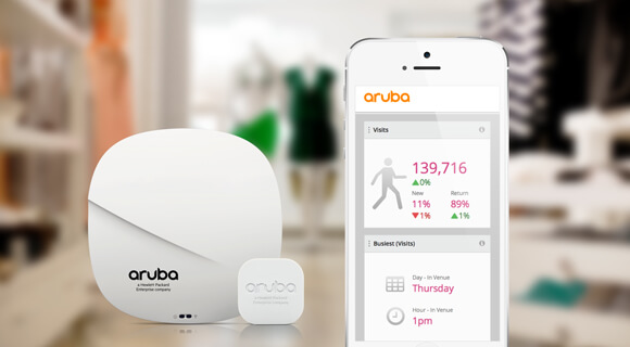Aruba location service solutions