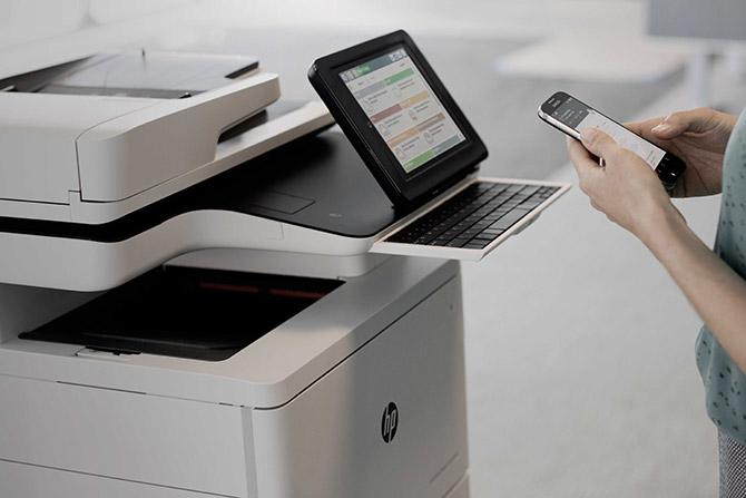 HP Secure Printing
